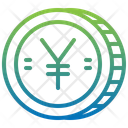 Yen Cash Coin Icon