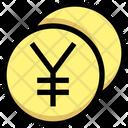 Yuan Yen Coin Icon
