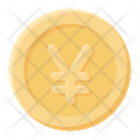 Yen Coin Japanese Currency Currency Coin Icon