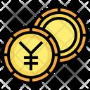 Yen Coin Yen Cash Icon