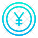 Coin Currency Yen Icon
