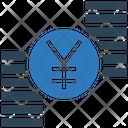 Yen Coins Stack Yen Icon