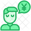 Yen Conversation Icon