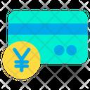 Yen Credit Card Icon