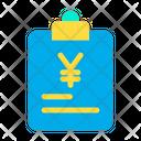 Yen Documents Icon
