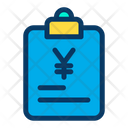 Yen Finance Papers Document Icon
