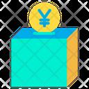 Contribution Yen Donation Icon