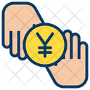 Yen Donation Coin Icon