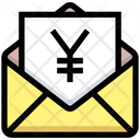 Business Financial Letter Icon