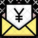 Yen Envelope Yen Letter Icon