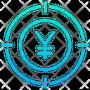 Yen Focus Icon
