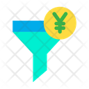 Yen Funnel Icon