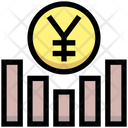 Yen Graph Earning Graph Money Icon