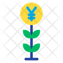Yen Grow Icon