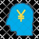 Yen Head Icon