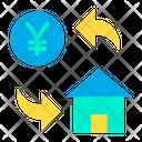 Yen Home Cost Icon