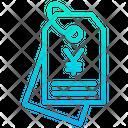 Yen Tag Tag Label Icon