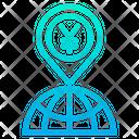 Yen Location Icon