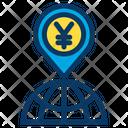 Yen World Global Icon