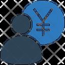 Yen Manager Finance Manger Banker Icon