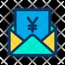 Yen Message Mail Icon