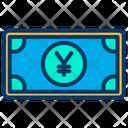 Yen Note Yen Cash Cash Icon
