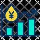 Yen Oil Icon