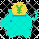 Yen Piggy Icon