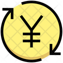 Yen Processing Payment Processing Payment Cycle Icon