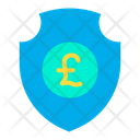 Secure Pound Pound Security Protected Pound Icon