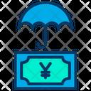 Yen Insurance Money Icon
