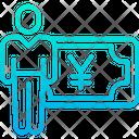 Yen Salary Icon