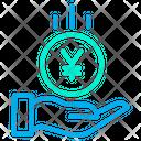 Save Yen Yen Coin Coin Icon