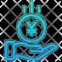 Yen Save Icon