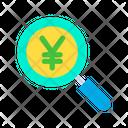 Yen Search Icon
