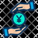 Safe Yen Protected Yen Secure Yen Icon