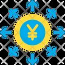 Yen Spending Invest Icon