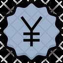 Yen Tag Yuan Label Yuan Tag Icon