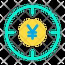 Yen Target Icon