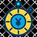 Yen Time Budget Icon