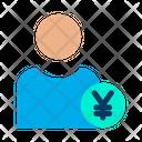 Yen User Yen Profile Male Profile Icon