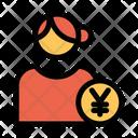 Yen User Yen Profile Female Profile Icon