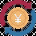 Yen Value Yen Refresh Money Transfer Icon