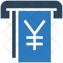 Yen Withdrawal Icon