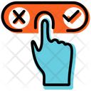 Yes Or No Decision Icon
