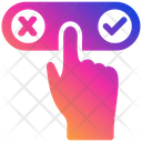 Yes Or No Decision Decision Making Yes Icon