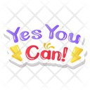 Yes You Can Icon