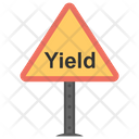 Yield Sign Icon