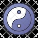 Balance Yin Yang Icon