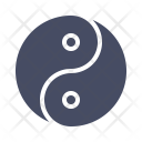 Yin Yang Philosophy Icon